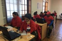 11. Alumnos-trabajadores en el aula