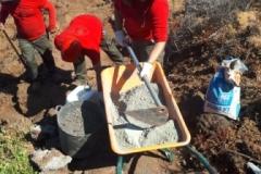 Reconstrucción de escalón en el Sendero SL PG 62 (2)