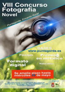 Cartel Concurso Fotografía plazo ampliado