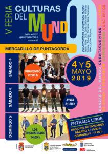 CARTEL CULTURAS DEL MUNDO 2019
