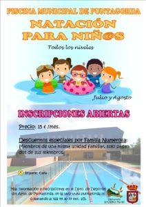 Clases de natación niños 2019