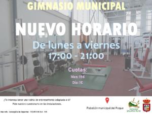 Cartel HORARIO DE INVIERNO