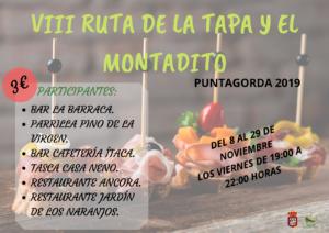 VIII RUTA DE LA TAPA Y EL MONTADILO